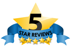 We've earned 5 star reviews!
